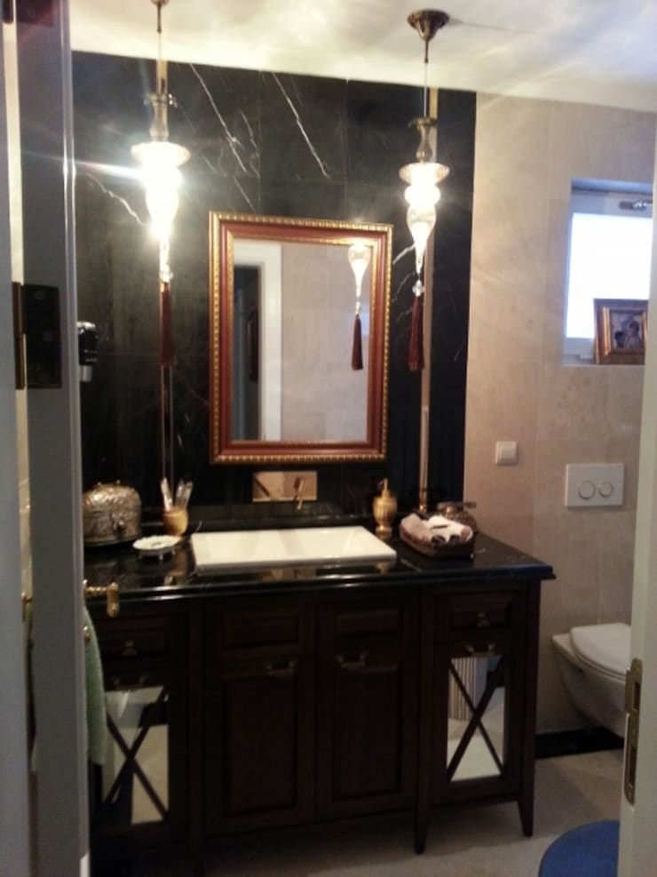 Kargen Sitesi Villa Modern Banyo Mimark Tasarım Proje Uygulama Ltd. Şti. Modern