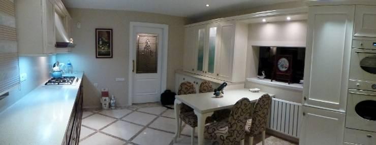 Mimark Tasarım Proje Uygulama Ltd. Şti. – Kargen Sitesi Villa:  tarz Yemek Odası