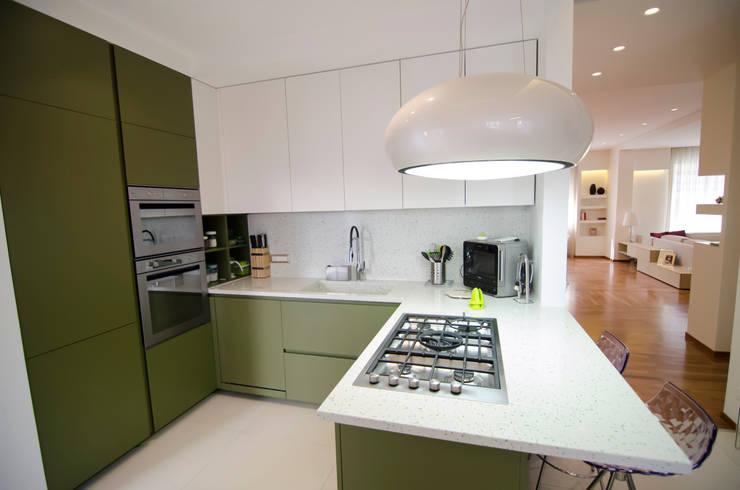 Projekty,  Kuchnia zaprojektowane przez Gruppo Cactus