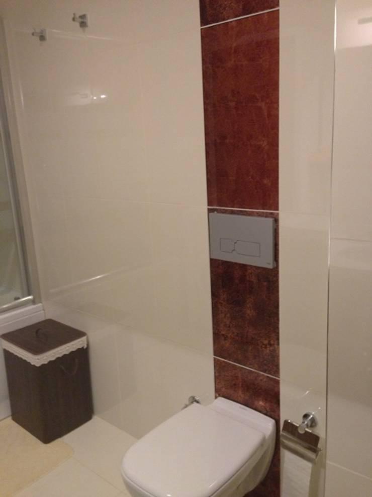 Mimark Tasarım Proje Uygulama Ltd. Şti. – Doğukent Daire:  tarz Banyo