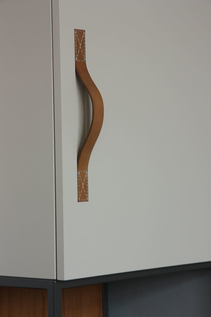 Handvat, deur: modern  door Tim van de Weerd, Modern