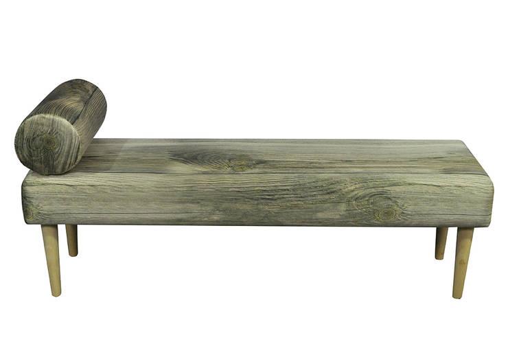 Siedzisko / Szezlong wood : styl , w kategorii Korytarz, hol i schody zaprojektowany przez Monkey Machine Magdalena Jasyk Bartczak