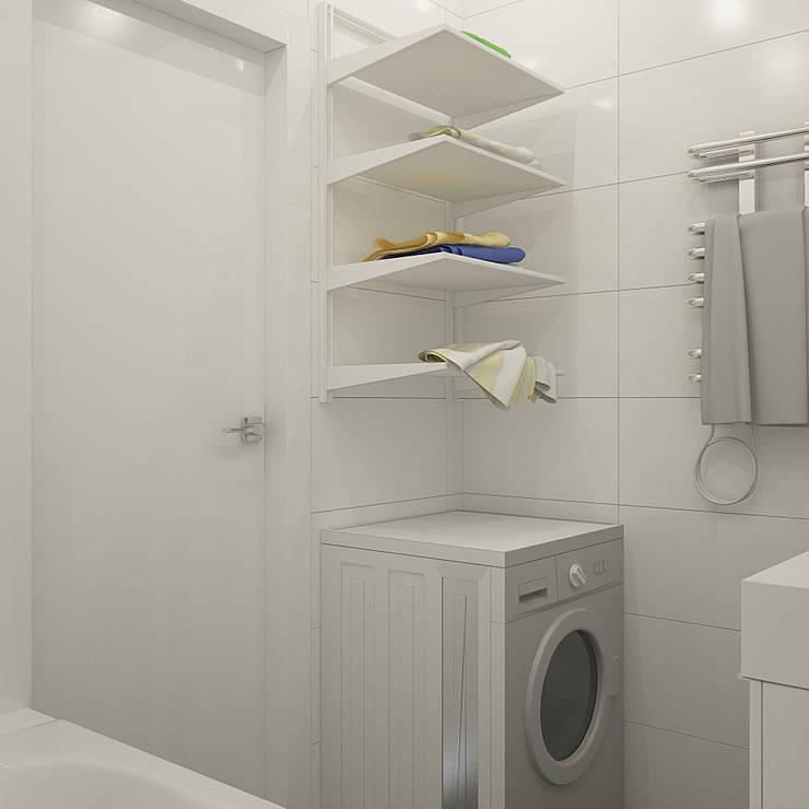 Нюансы белого: Ванные комнаты в . Автор – CO:interior