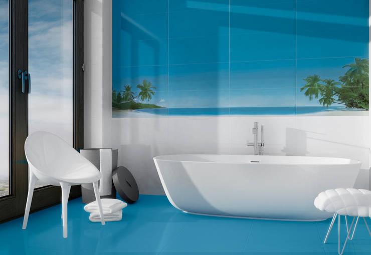 Palms:  Bathroom by Target Tiles