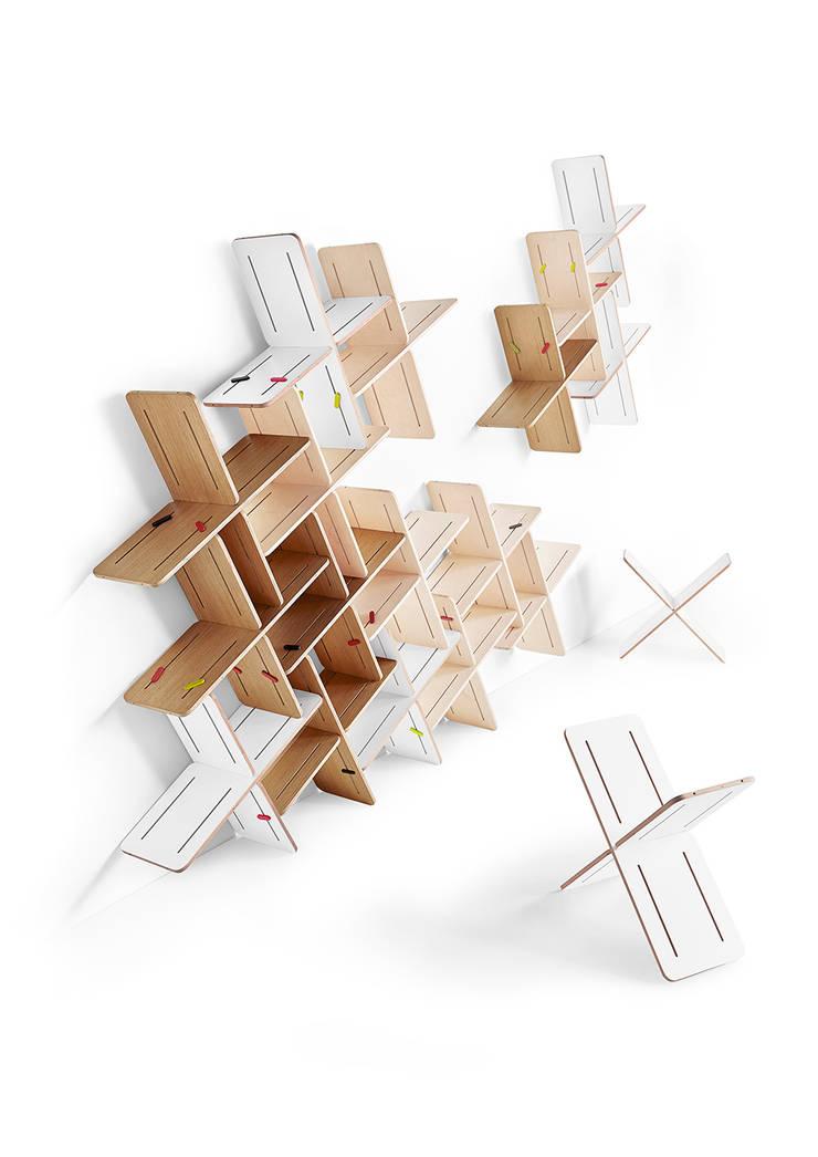 DYNKS: styl , w kategorii Domowe biuro i gabinet zaprojektowany przez TABANDA gdańsk