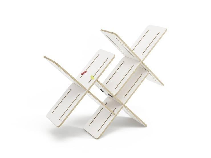 DYNKS: styl , w kategorii Salon zaprojektowany przez TABANDA gdańsk