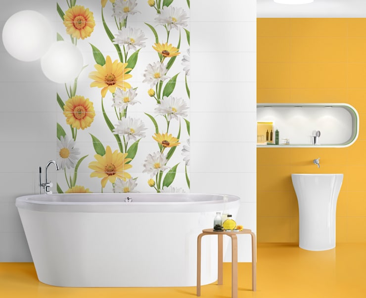 Daisy Chain:  Bathroom by Target Tiles