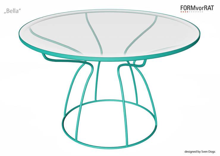 BELLA for FORMvorRAT - designed by Sven Dogs:  Wohnzimmer von sven dogs