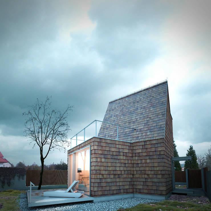 DOM MAŁY: styl , w kategorii Domy zaprojektowany przez 90 stopni
