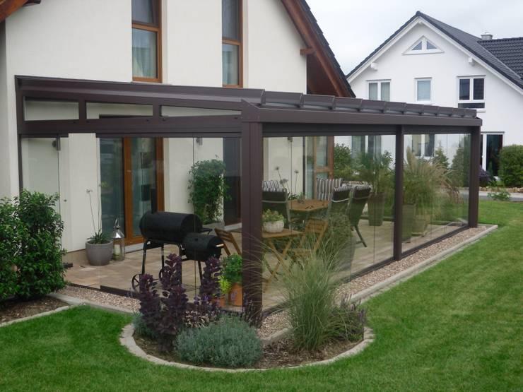 ogród zimowy, oranżeria: styl , w kategorii Taras zaprojektowany przez Glass Art