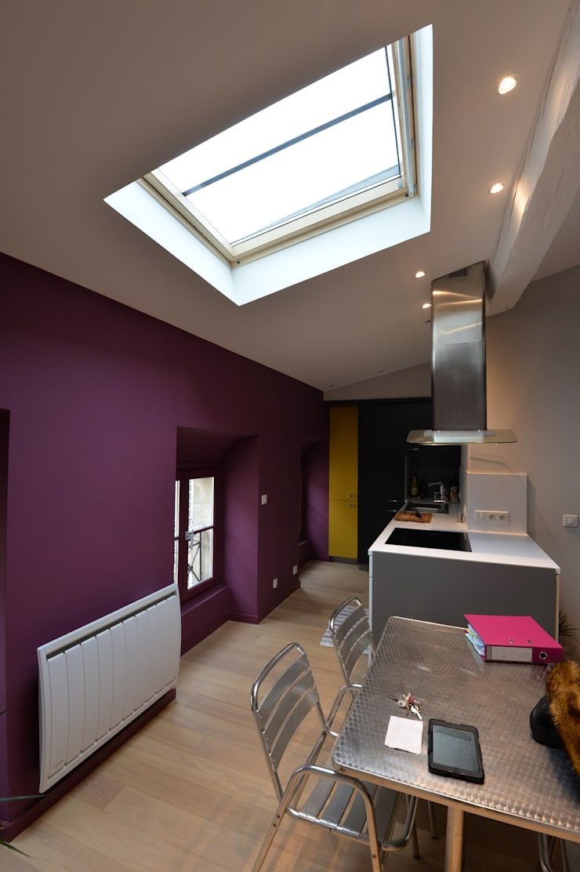 Projekty,  Kuchnia zaprojektowane przez YF Aaidg (atelier D'architecture Interieur Et De Design Global