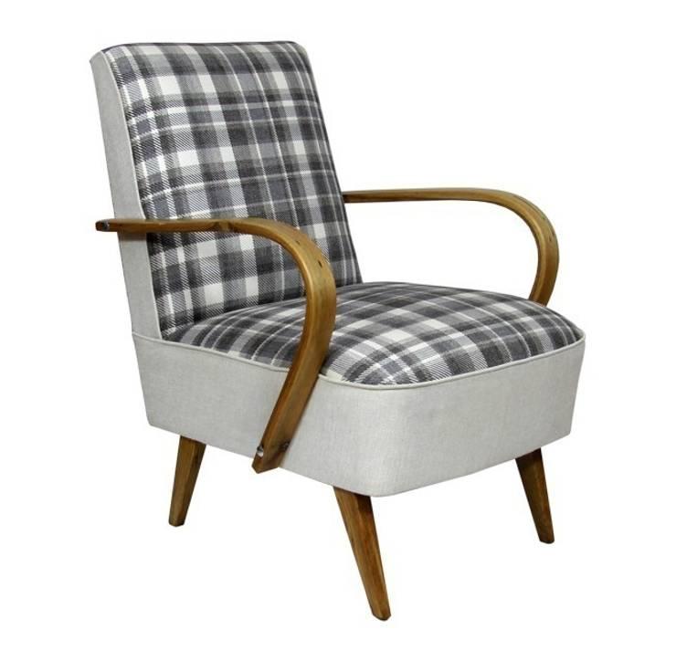 Fotel Klubowy: styl , w kategorii Salon zaprojektowany przez ToTu Pracownia