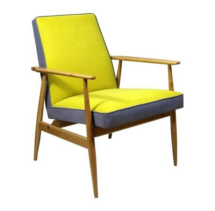 Fotel Miodek: styl , w kategorii Salon zaprojektowany przez ToTu Pracownia