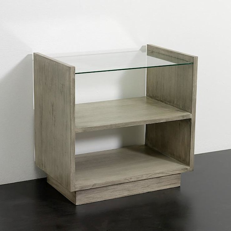 Mueble auxiliar en gris velado: Comedor de estilo  de TILBURY DECORACIÓN