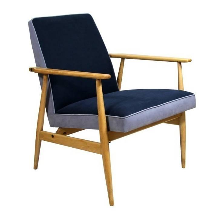 Fotel Granat: styl , w kategorii Salon zaprojektowany przez ToTu Pracownia