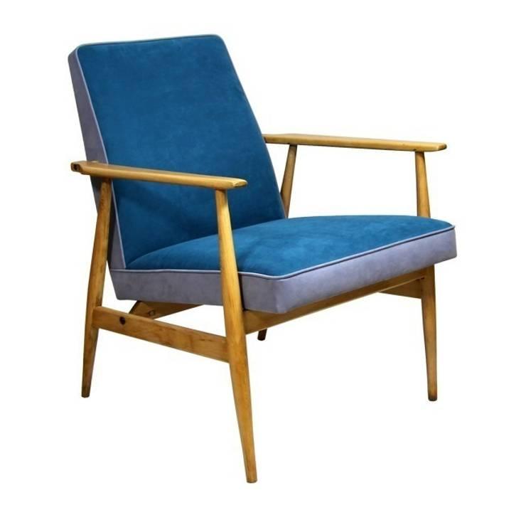 Fotel Morski: styl , w kategorii Salon zaprojektowany przez ToTu Pracownia