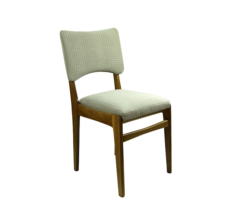 Krzesło Plecionka: styl , w kategorii Domowe biuro i gabinet zaprojektowany przez ToTu Pracownia