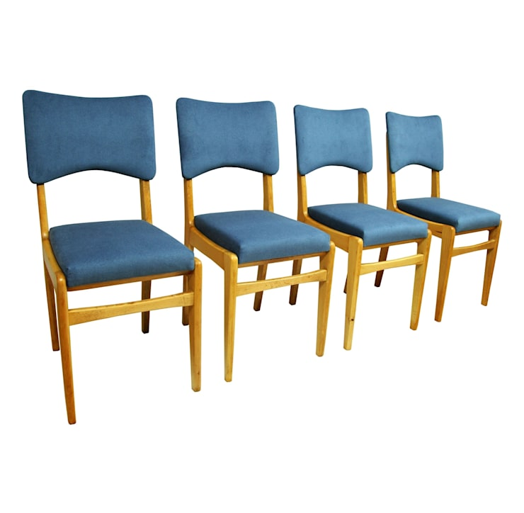 Krzesła Burzowe: styl , w kategorii Jadalnia zaprojektowany przez ToTu Pracownia