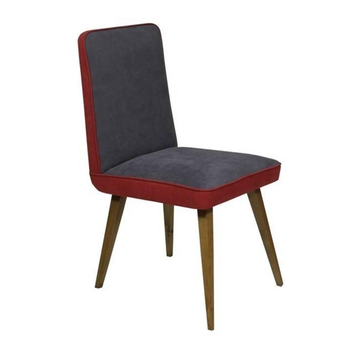 Krzesło Malina: styl , w kategorii Domowe biuro i gabinet zaprojektowany przez ToTu Pracownia,