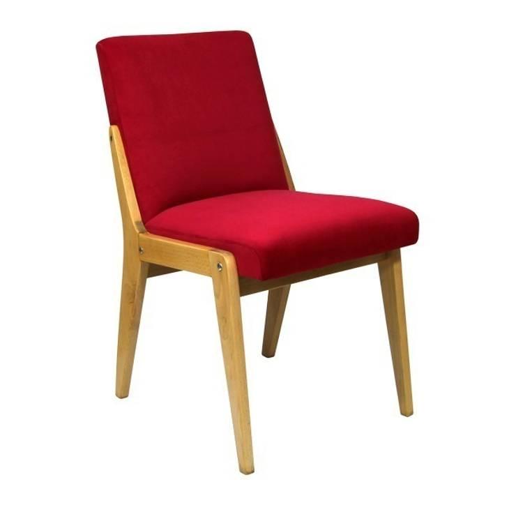 Krzesło Wiśnia: styl , w kategorii  zaprojektowany przez ToTu Pracownia,Klasyczny