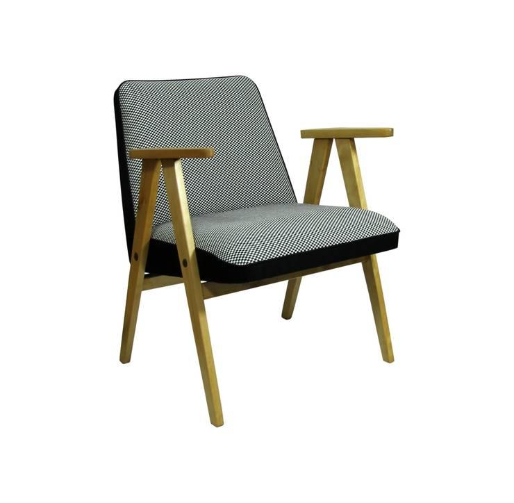 Fotel 366 Chierowski: styl , w kategorii Salon zaprojektowany przez ToTu Pracownia