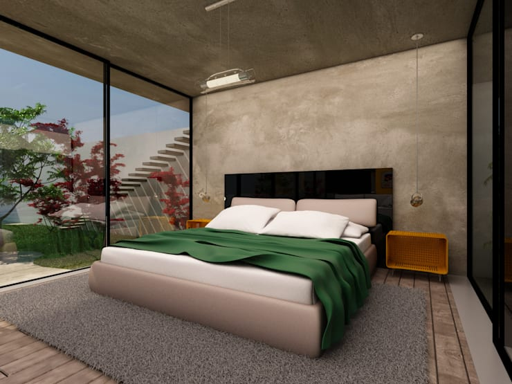 Dormitório: Quartos  por Ateliê São Paulo Arquitetura