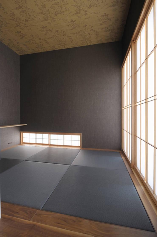 Kamar Tidur oleh 矩須雅建築研究所, Modern