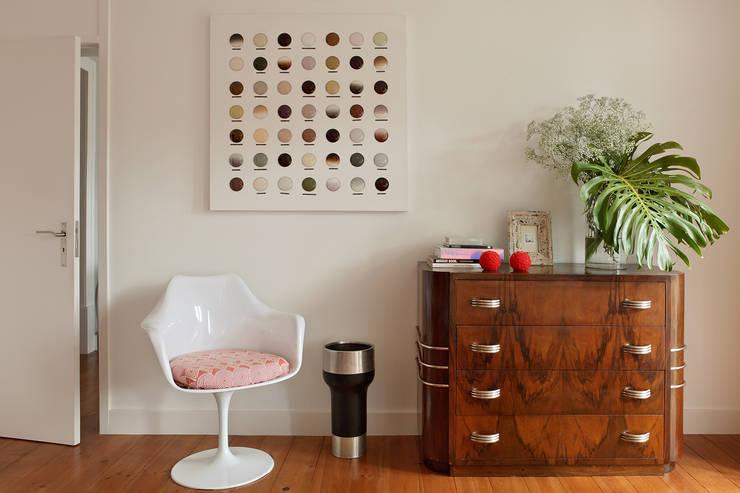 Tiago Patricio Rodrigues, Arquitectura e Interioresが手掛けた寝室
