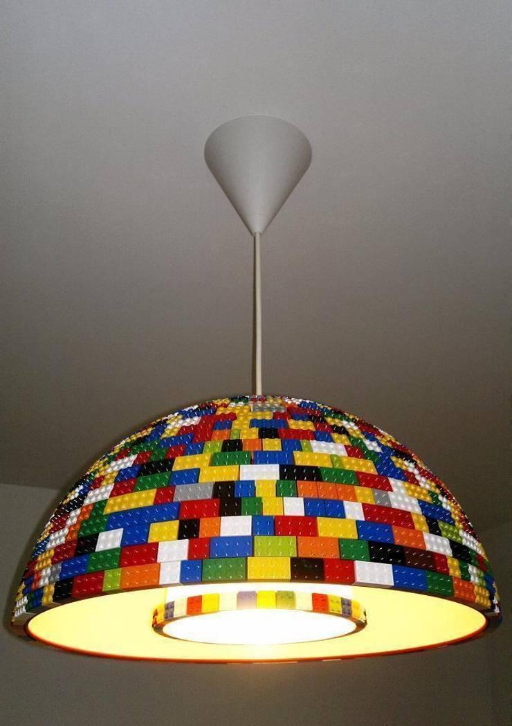 LEGOlamp: styl , w kategorii Sypialnia zaprojektowany przez RefreszDizajn