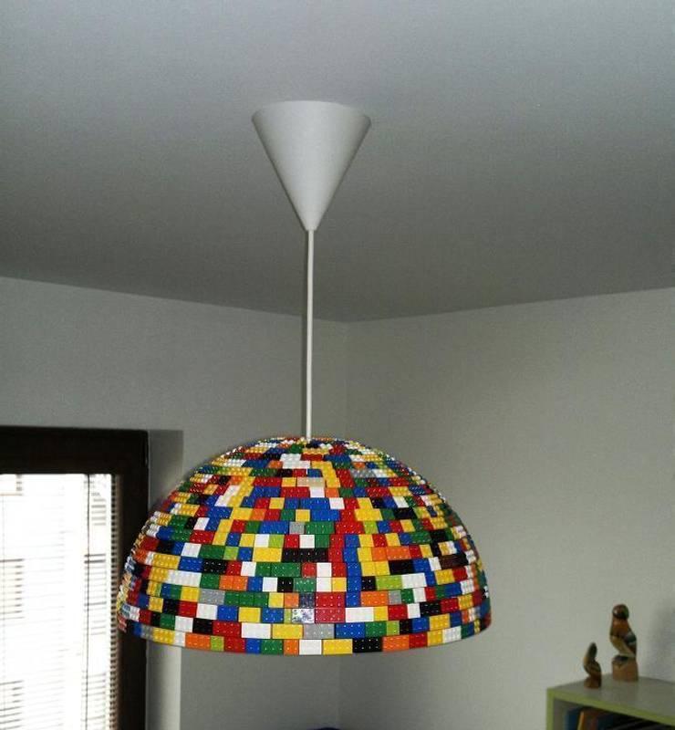 LEGOlamp: styl , w kategorii Jadalnia zaprojektowany przez RefreszDizajn