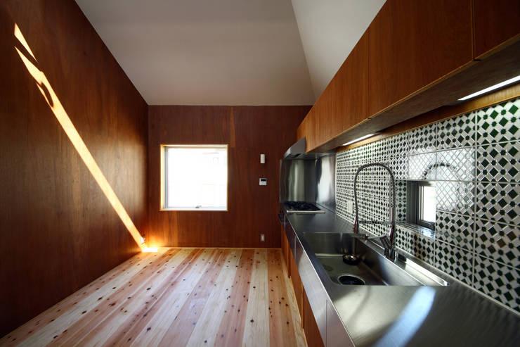 キッチン: TABが手掛けたキッチンです。