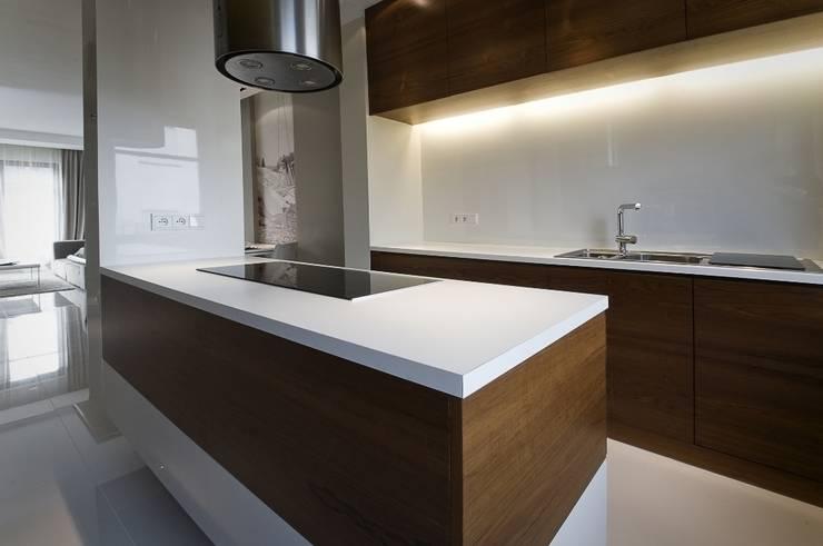 Dom prywatny w Gdynia 2010: styl , w kategorii Kuchnia zaprojektowany przez formativ. indywidualne projekty wnętrz