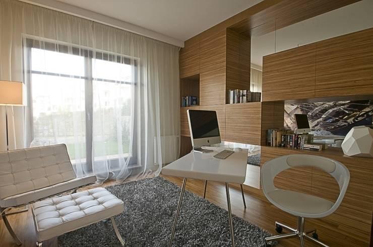 Dom prywatny w Gdynia 2010: styl , w kategorii Domowe biuro i gabinet zaprojektowany przez formativ. indywidualne projekty wnętrz