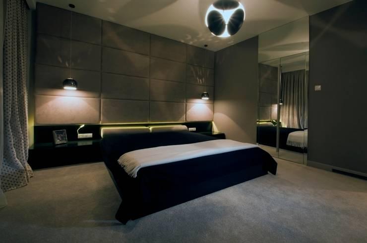 Dom prywatny w Gdynia 2010: styl , w kategorii Sypialnia zaprojektowany przez formativ. indywidualne projekty wnętrz
