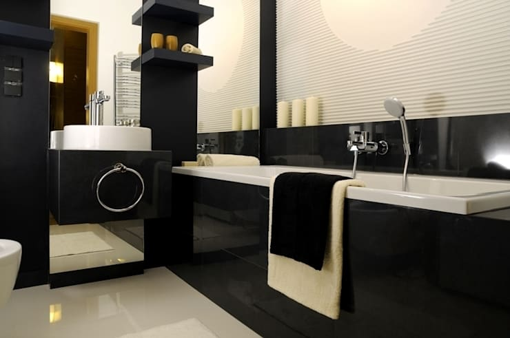 Apartament pokazowy Invest Komfort 2010: styl , w kategorii Łazienka zaprojektowany przez formativ. indywidualne projekty wnętrz