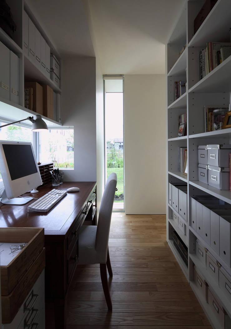 ワークスペース: 松原建築計画 / Matsubara Architect Design Officeが手掛けた書斎です。