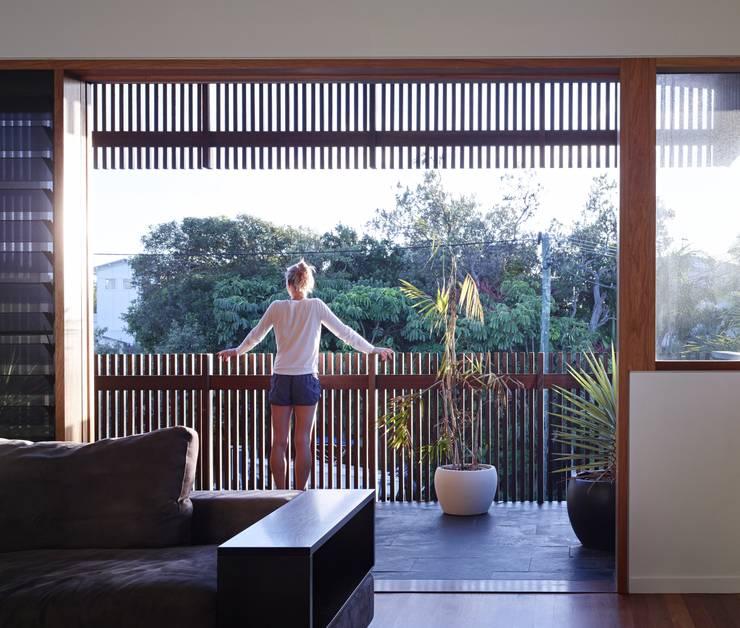 Projekty,  Taras zaprojektowane przez Shaun Lockyer Architects