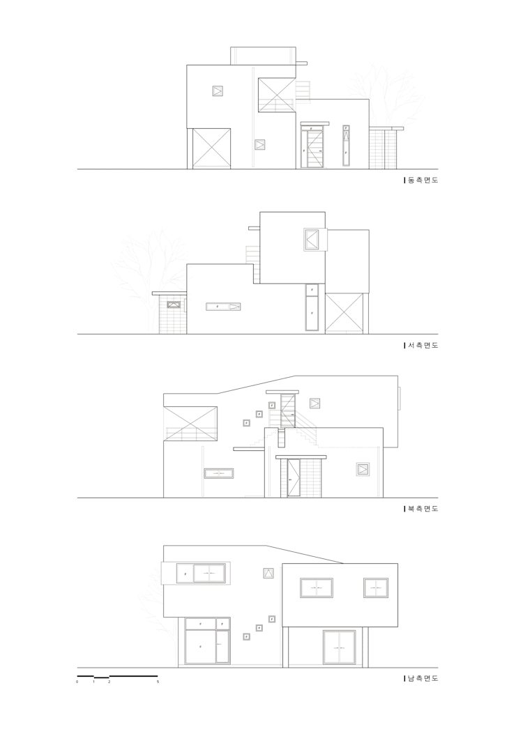 청원 단독주택 [라온재]: KDDH Architects의