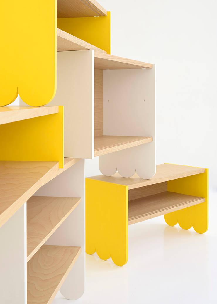 cloud block: GENETO一級建築士事務所が手掛けたインテリアランドスケープです。,