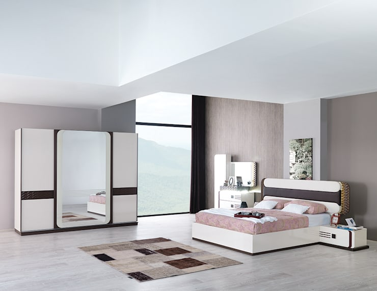 Mahir Mobilya – Modern Yatak Odası Takımları: modern tarz Yatak Odası