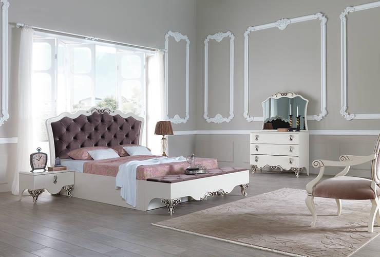 Mahir Mobilya – Avangart Yatak Modelleri: minimal tarz tarz Yatak Odası