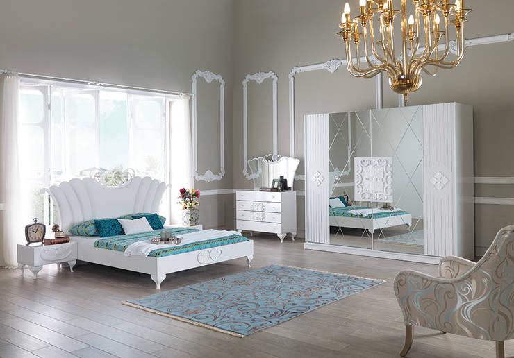 Mahir Mobilya – avangart yatak odaları: rustik tarz tarz Yatak Odası