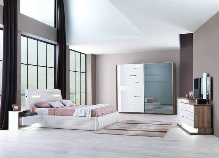 Mahir Mobilya – modern yatak odaları: modern tarz Yatak Odası