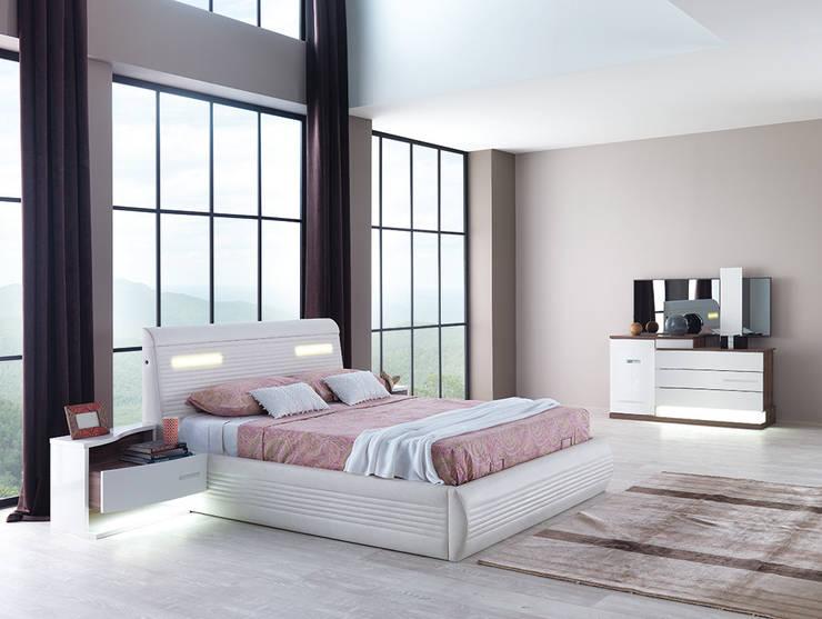 Mahir Mobilya – Modern yatak takımı: modern tarz Yatak Odası