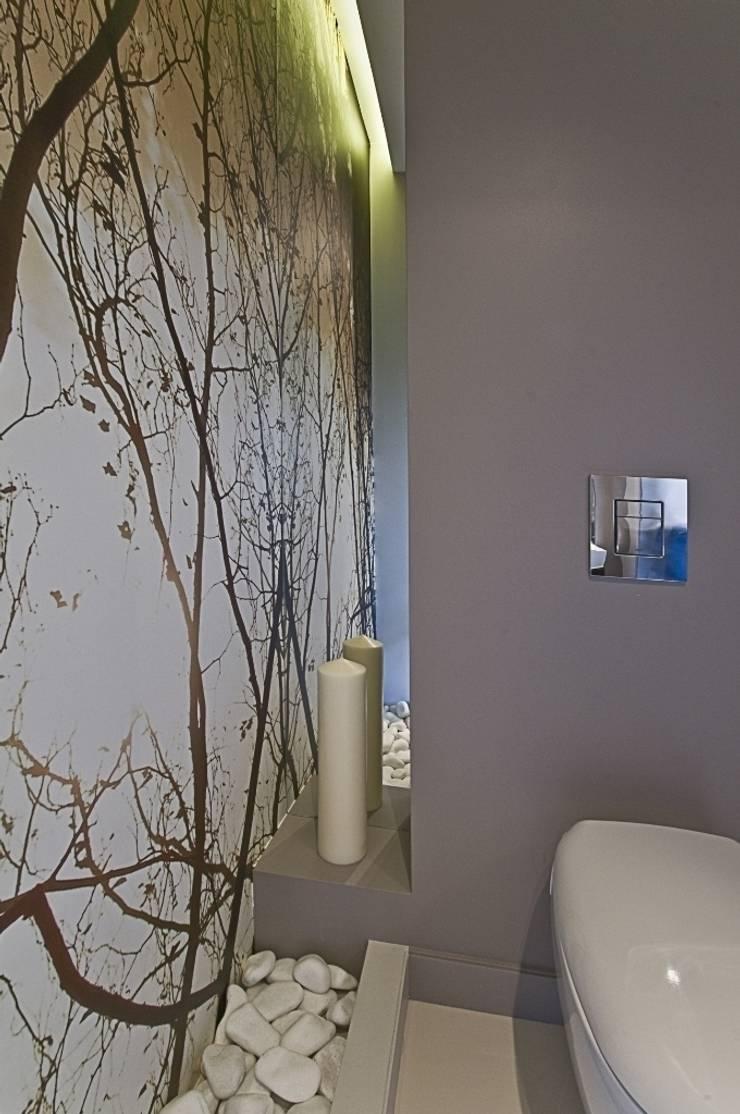 Apartament w Gdańsku 2010: styl , w kategorii Łazienka zaprojektowany przez formativ. indywidualne projekty wnętrz