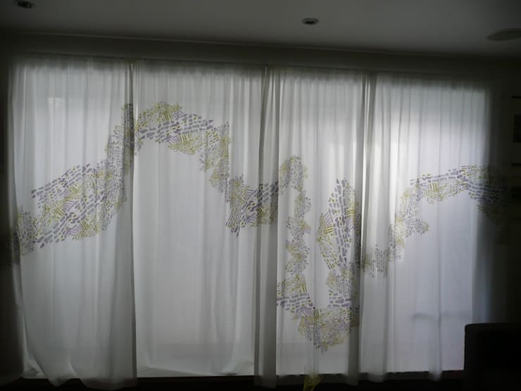 Full set of four curtains:  Household by Georgia Bosson