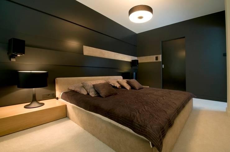 Apartament w Gdynia 2011: styl , w kategorii Sypialnia zaprojektowany przez formativ. indywidualne projekty wnętrz