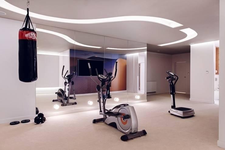 Dom prywatny 2012: styl , w kategorii Siłownia zaprojektowany przez formativ. indywidualne projekty wnętrz