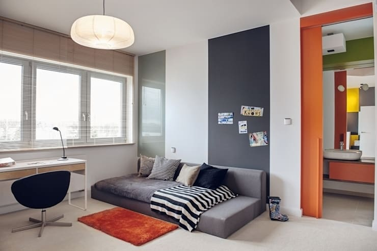 Dom prywatny 2012: styl , w kategorii Pokój dziecięcy zaprojektowany przez formativ. indywidualne projekty wnętrz