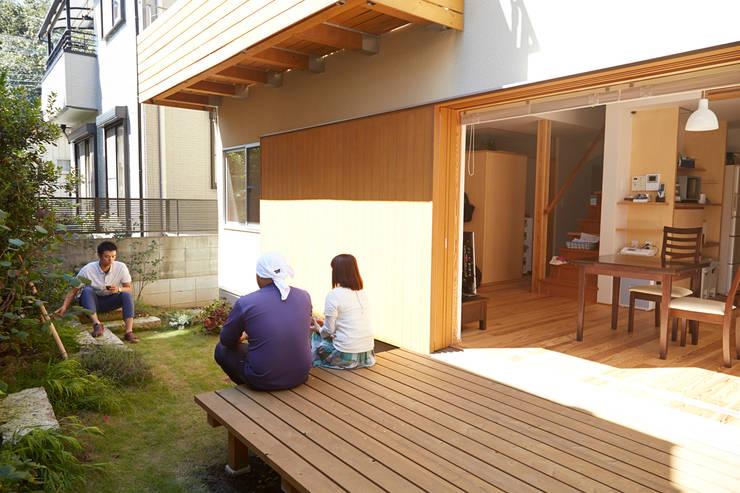 庭: 一級建築士事務所co-designstudioが手掛けた庭です。
